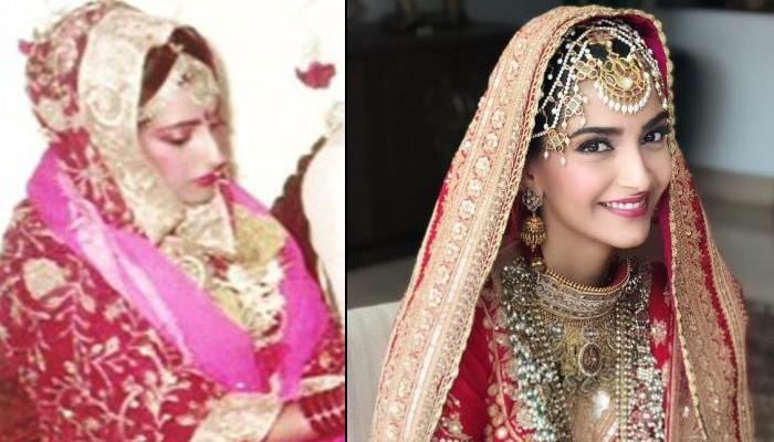 Sonam Kapoor And Sunita Kapoor's Resemblance In Their Bridal Look Proves 'Like Mother Like Daughter'
