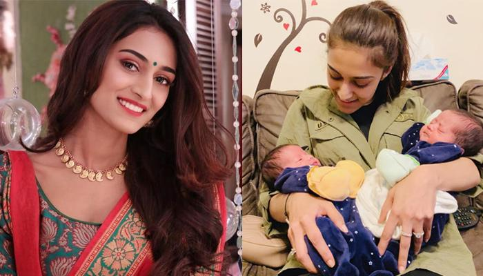 Erica Fernandes Looks Adorable As She Spends Some 'Maasi Time' Cuddling Her Twin Nephews