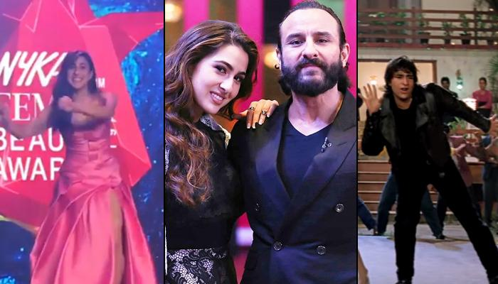 Sara Ali Khan Recreates Dad, Saif Ali Khan's Iconic 'Ole Ole' Step, She Gives Him Tough Competition