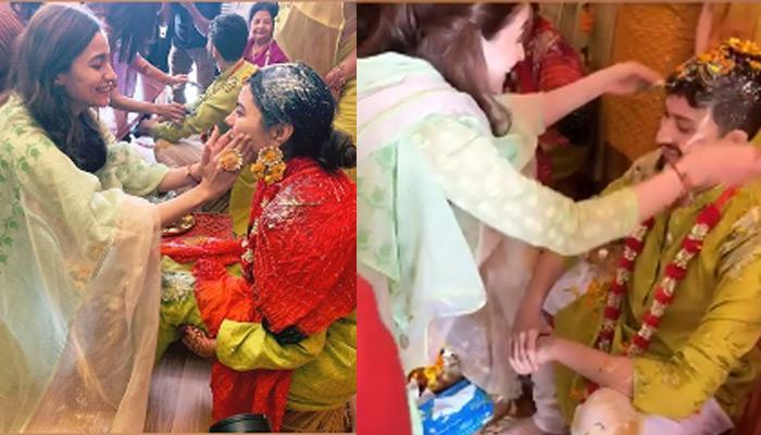 Alia Bhatt Attends Haldi Ceremony Of Her Bestie Devika Advani And Varun Jain, Video Inside