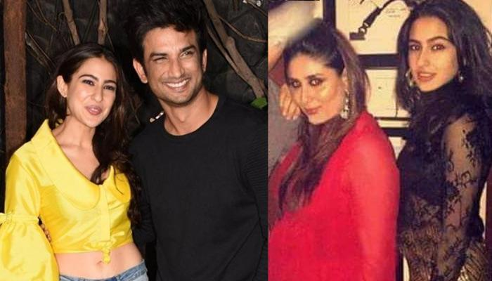 Sara Ali Khan Avoids Getting Clicked With Sushant, Listens To Step-Mom Kareena's Advice?