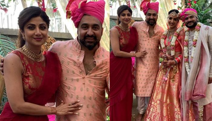 Shilpa Shetty's Husband Raj Kundra Shares The First Picture From Sister Reena Kundra's Wedding