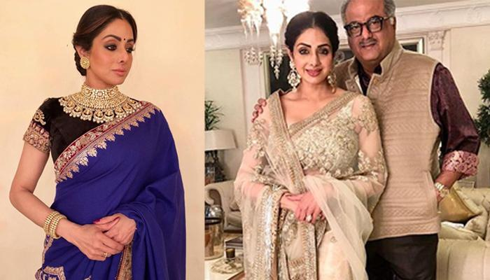Boney Kapoor Auctions Wife Sridevi's Favourite Saree, Will Do This With The Money Earned From It