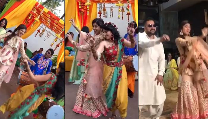 Shilpa Shetty Kundra Dances Her Heart Out At 'Nanad' Reena's Mehendi And Sangeet Ceremony [VIDEO]