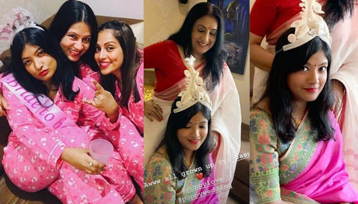 Bipasha Basu's Sister, Vijayeta Basu Takes The First Step Towards Wedding With 'Nandi Mukh'
