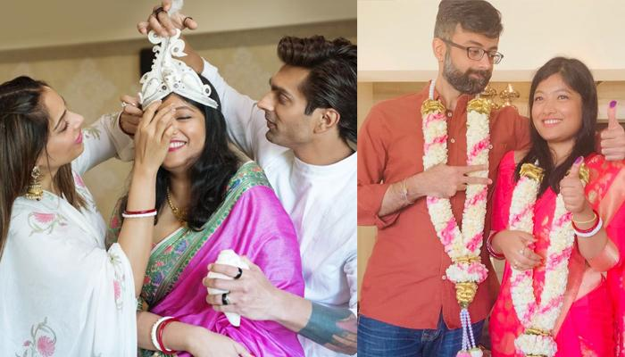 Bipasha Basu's Sister, Vijayeta Is Now A Married Lady, Shares Picture From Her Marriage Registration