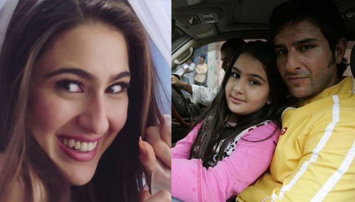 Unseen Throwback Picture Of A 'Nerdy' Sara Ali Khan Wearing Glasses And Braces Will Melt Your Heart