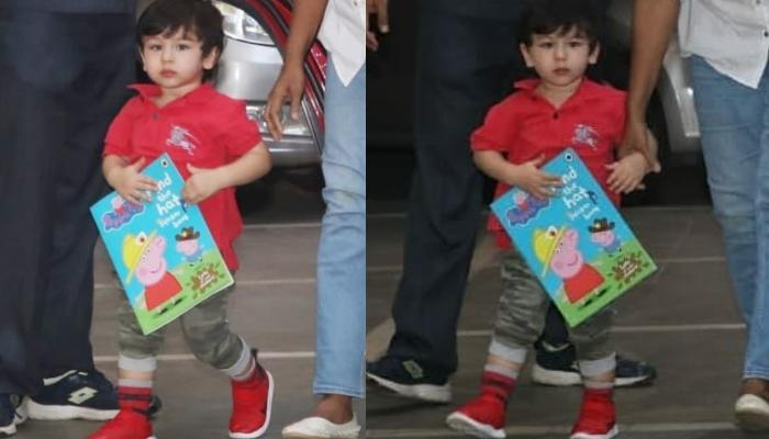 Taimur Ali Khan Beats Our Mid-Week Blues As He Goes On A Play Date With Peppa Pig