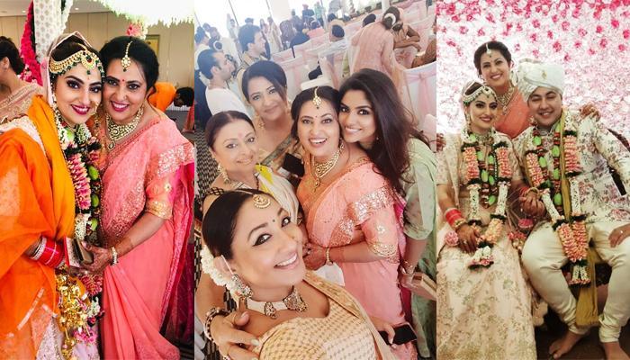 'Jamai Raja' Actress Nilu Kohli's Daughter, Sahiba Gets Married, TV Celebrities Grace The Wedding