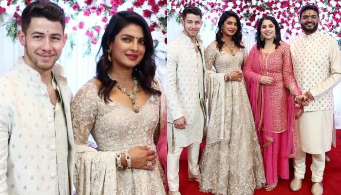 Isn't Priyanka Chopra Jonas Looking Pregnant In The Pictures From Her Brother's Roka Ceremony?