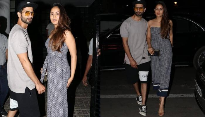 Mira Rajput Kapoor Shows Off Her Style As She Enjoys A Dinner Date With Husband Shahid Kapoor