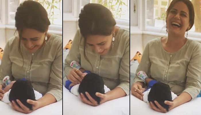Mona Singh Showers Maasi Love On Ravie Kapoor, Ekta Kapoor Shares Glimpse Of Their Cute Conversation