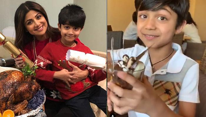 Shilpa Shetty Kundra's Son, Viaan Looks Adorable As He Mimics His Mom's 'Sunday Binge' Expressions