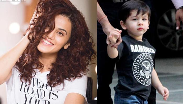 Taapsee Pannu Wanting To Take Taimur Ali Khan On A Date Is Something Which Every Girl Already Feels