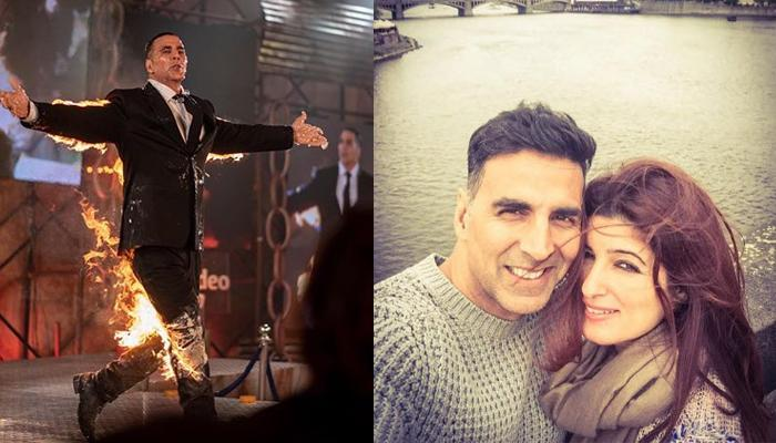 Twinkle Khanna Gets Angry At Akshay Kumar, Says 'Come Home And I Am Going To Kill You'
