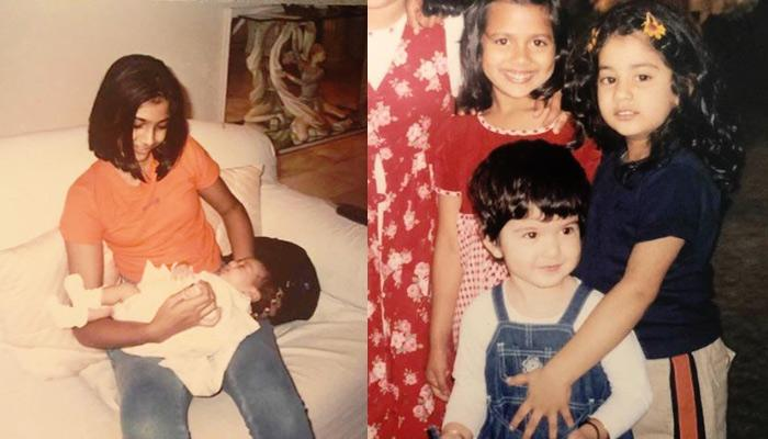 Janhvi Kapoor's Unseen Childhood Pics Shared By Sonam Kapoor And Maheep Kapoor On Her Birthday