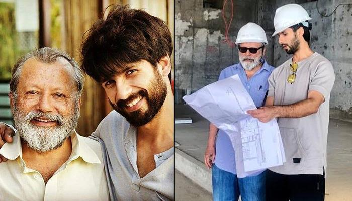 Shahid Kapoor Get Approvals From 'Big Daddy' Pankaj Kapur On Interiors Of Their 56 Crore Apartment