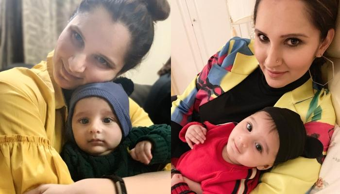 Sania Mirza Poses With Her Baby Boy, Izhaan Mirza Malik, Both Wearing Expensive Gucci Clothes