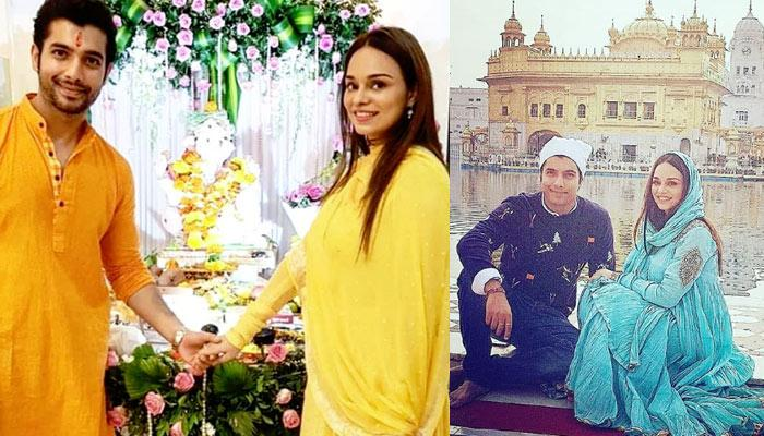 Sharad Malhotra Visits Golden Temple With Fiancee Ripci Bhatia Ahead Of Their April Wedding