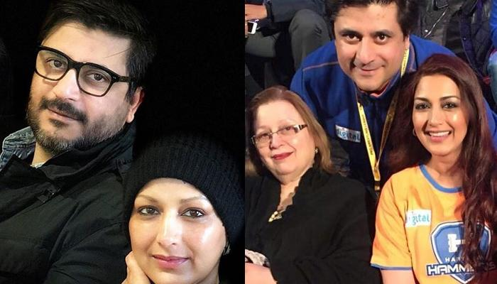 Sonali Bendre Behl's Husband, Goldie Behl Shares A Pic Of Two Most Important Women In His Life