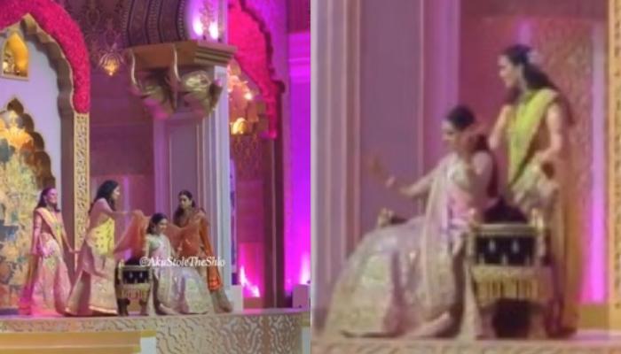 Shloka Mehta Performs On 'Din Shagna Da' With Mother, Mona Mehta And Sisters On Her Mehendi Ceremony