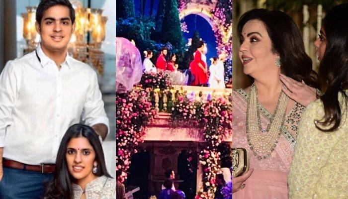 First Pictures From Akash Ambani And Shloka Mehta's Sangeet, Venue's Decor Will Make You Awestruck