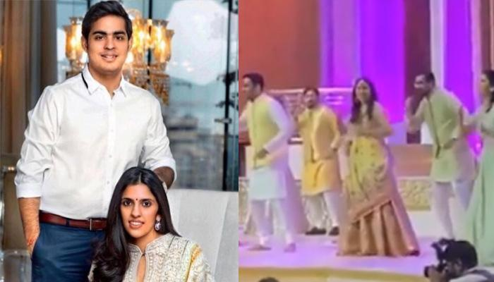 Shloka Mehta Looked Stunning In A Pastel Lehenga As She Danced With Her Team On Mehendi [VIDEO]