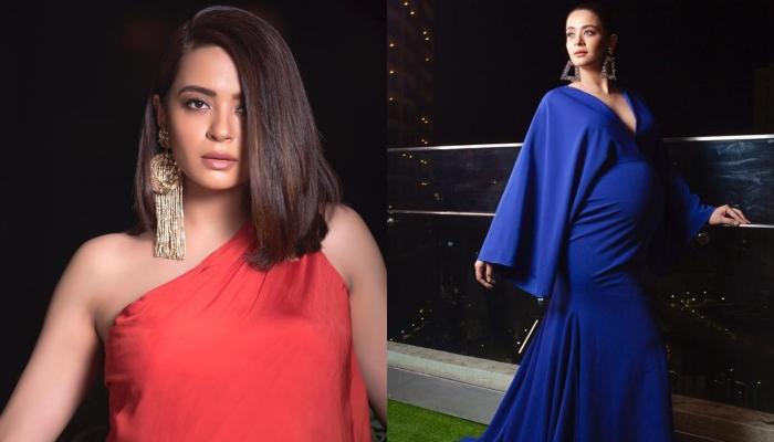 6f69f5598ec Surveen Chawla Gives Out Maternity Fashion Goals As She Flaunts Her Baby  Bump