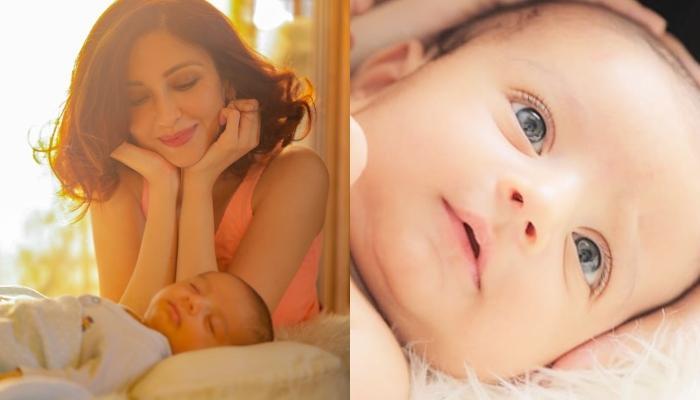 Saumya Tandon's Baby Boy, Miraan Tandon Singh Has Adorable Grey Eyes, Picture Inside
