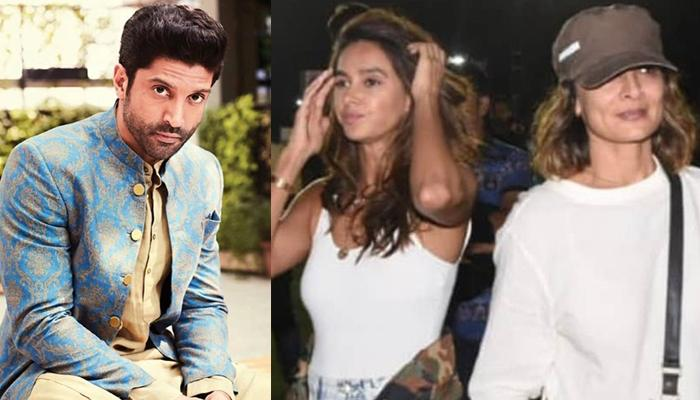Farhan Akhtar's Ex-Wife, Adhuna And His Current Girlfriend, Shibani, Ignored Each Other?