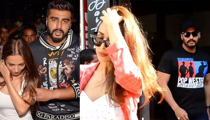 Arjun Kapoor's Protective Gesture Towards GF Malaika Arora After Their Lunch Date, Video Inside