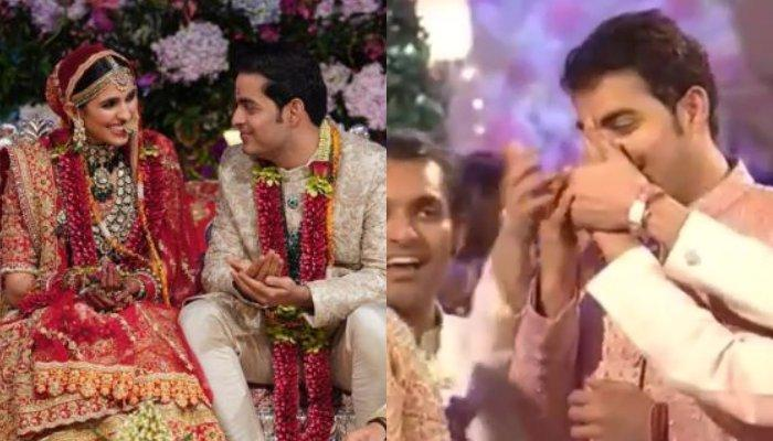 Akash Ambani's In-Laws Had Immense Fun Pulling His Nose For A Ritual At His And Shloka's Wedding
