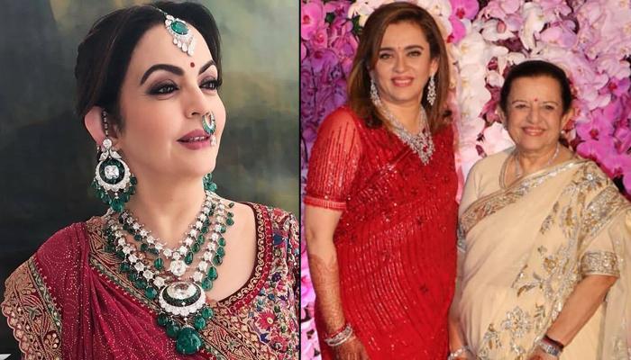Nita Ambani's Resemblance With Mother Purnima Dalal And Sister Mamta Dalal Proves Beauty Is In Genes