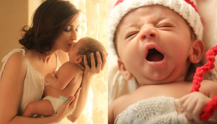 Exclusive Pictures Of Saumya Tandon And Her 2-Month-Old Son Miraan's Dreamy Photoshoot
