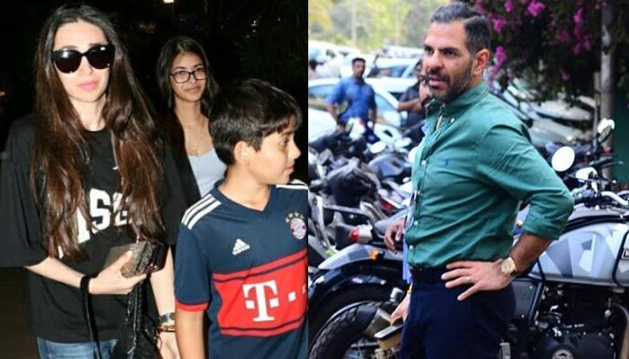 Karisma Kapoor And Ex-Husband Sunjay Kapur Come Together To Celebrate Kiaan Raj Kapoor's Birthday