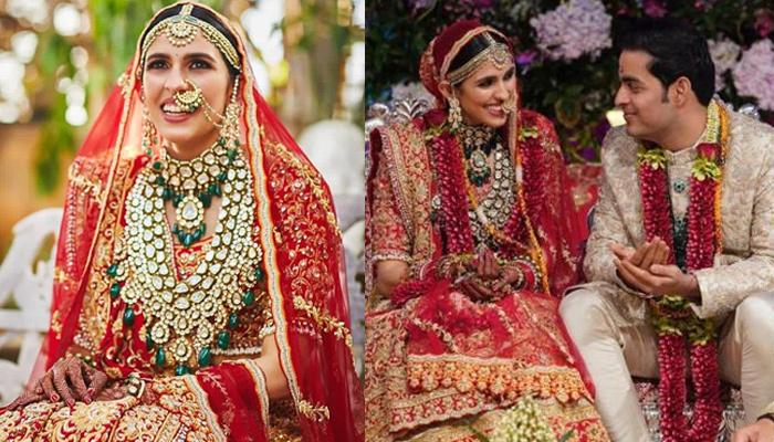Shloka Mehta Dazzles In Her Bridal Photoshoot, Unseen Videos From Her Wedding Reception Inside