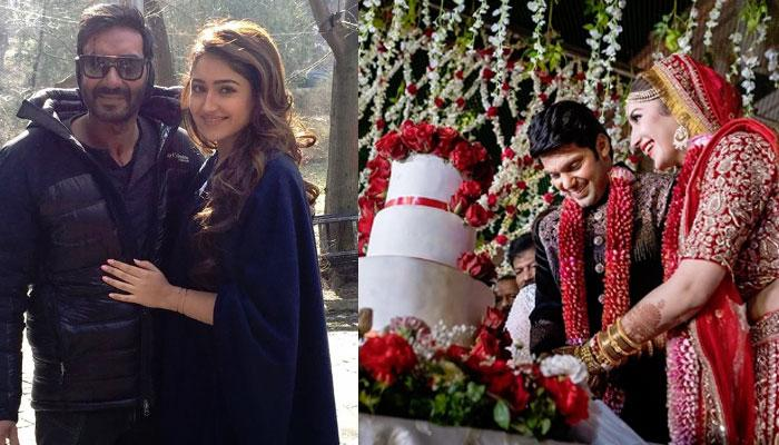'Shivaay' Actress Sayyeshaa Gets Married To Her Actor-Boyfriend Arya In A Grand Wedding [Pictures]