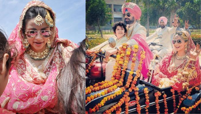 Gul Panag Shares Unseen Pictures From Her Unique 'Bike Doli' On Her 8th Wedding Anniversary