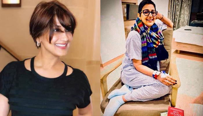 Sonali Bendre Shares A Cryptic Post About Her Cancer, Goes Back To Treatment, Calls It 'New Normal'