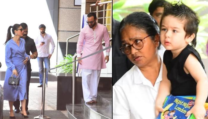 Taimur Ali Khan Flaunts 'Spikes Look' At School's Annual Day With Saif Ali Khan-Kareena Kapoor Khan