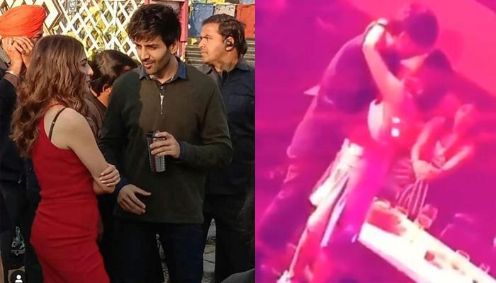 Kartik Aaryan's Surprising Take On His And Sara Ali Khan's Viral Liplock Video From Love Aaj Kal 2