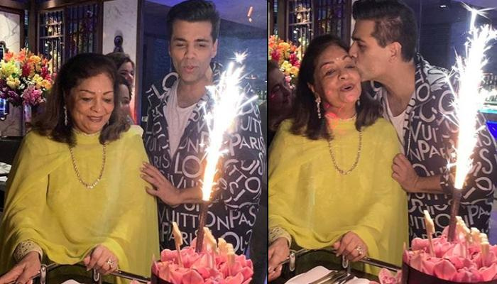 Karan Johar Celebrates His Mother, Hiroo Johar's 76th Birthday, She Thanks Everyone In Her Speech