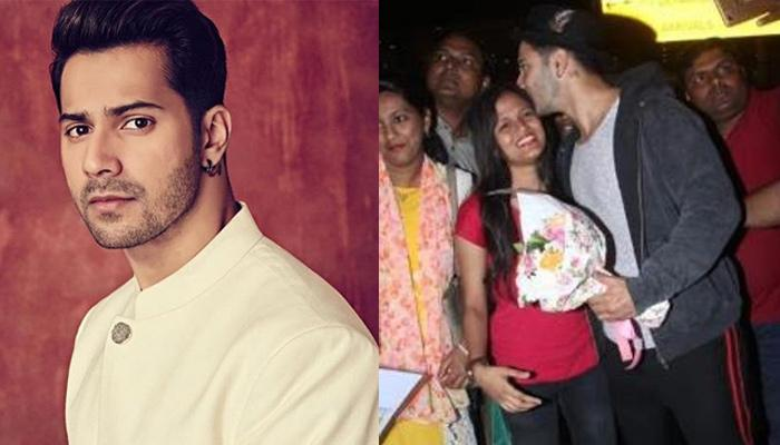 Varun Dhawan's Fan Goes Down On Her Knees And Proposes Him At Airport, His Reaction Is Unmissable