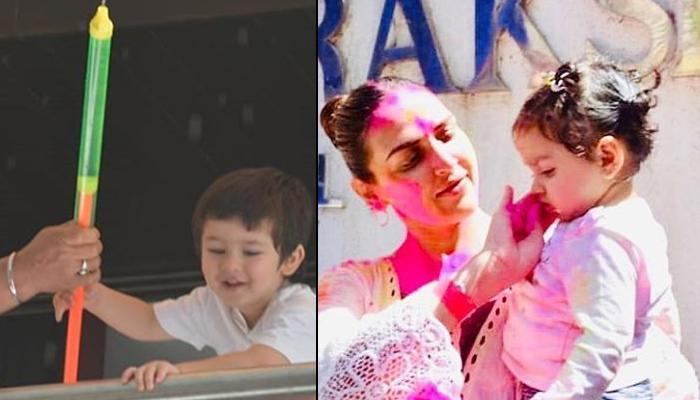 Bollywood And TV Celeb Kids' 'Rang Barse' Mood As They Celebrated Holi With The Pichkaris And Gulaal