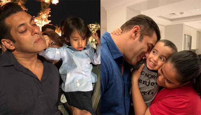 Arpita Khan Sharma Shares Pic With Ahil Sharma And Salman Khan, It's Perfect 'Mamu-Bhanja' Moment