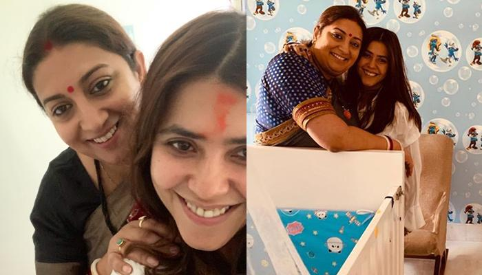 Ekta Kapoor Posts A Heartfelt Birthday Wish For Soul-Sister Smriti Irani On Behalf Of Her And Ravie