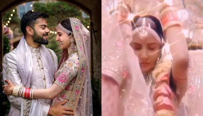 Unseen Video Of Anushka Sharma From Her Vidaai Ceremony Will Make You Want To Get Married Right Away