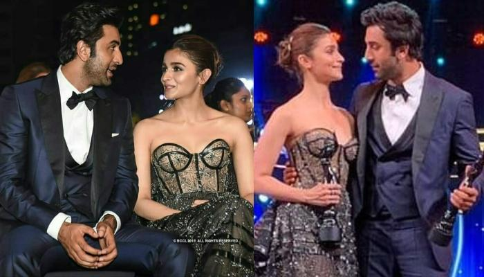 Alia Bhatt Expresses Her Love For Ranbir Kapoor In The Most Adorable Way At Filmfare 2019