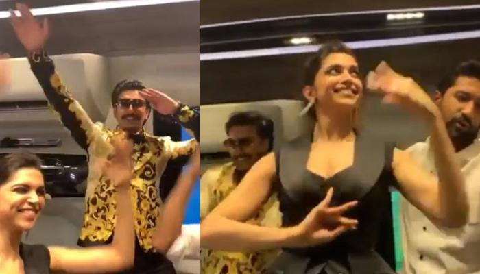 Deepika Padukone Dances Her Heart Out With Husband Ranveer Singh And Vicky Kaushal, Video Inside