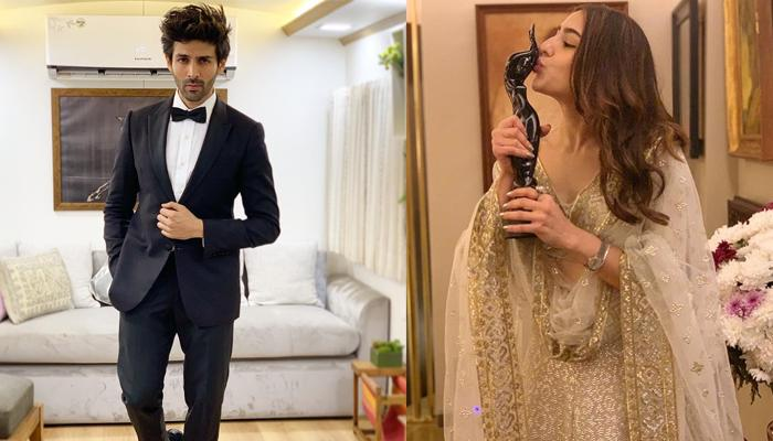 Kartik Aaryan Says 'Sirf Coffee Se Kaam Nhi Chalega' To Sara Ali Khan After Her Filmfare Win